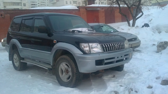 Продажа Toyota LAND-CRUISER-PRADO в Казани